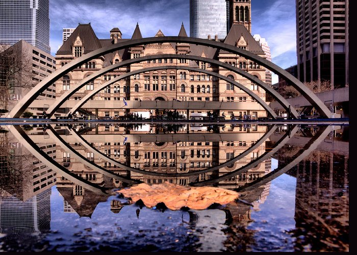 Toronto Greeting Card featuring the photograph Spring Has Sprung by Russell Styles
