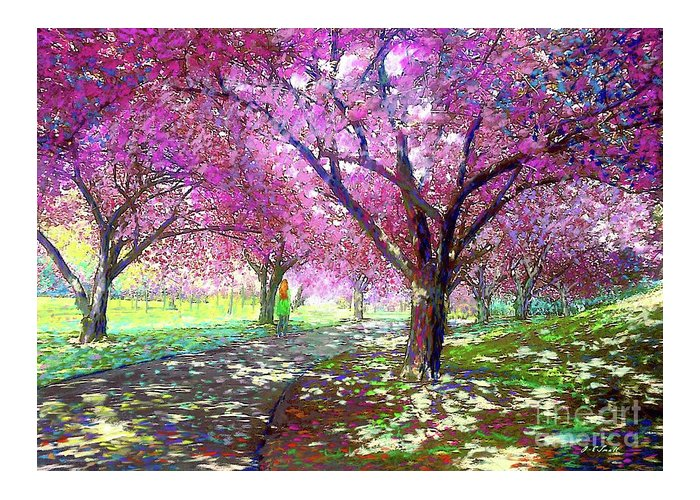 Flowering Cherry Greeting Cards