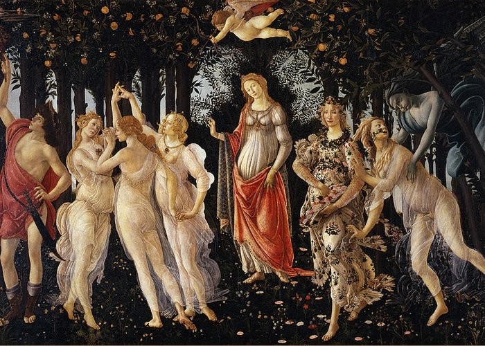 Designs Similar to Spring  by Sandro Botticelli