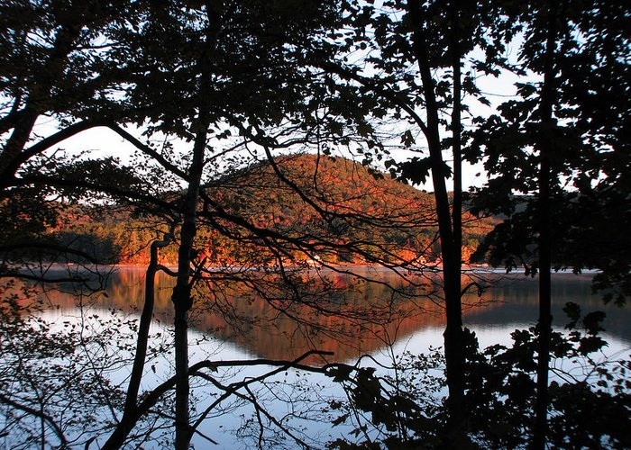 Big Squam Lake Greeting Card featuring the photograph Squam Lake 1 by Mike Mooney
