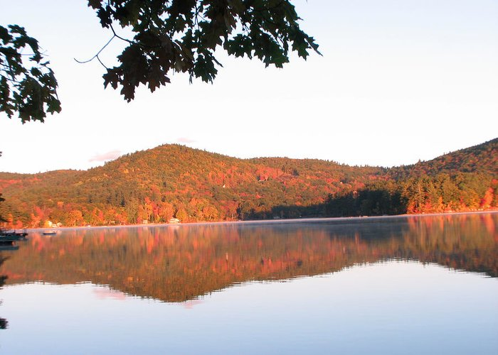 Squam Lake Greeting Card featuring the photograph Squam Lake 2 by Michael Mooney
