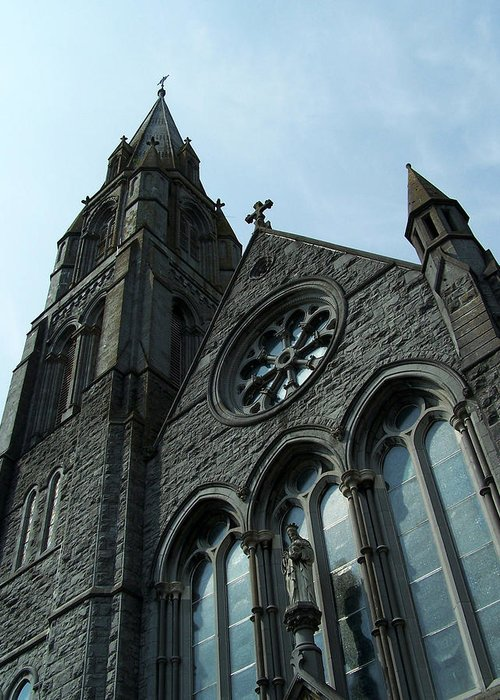 Ireland Greeting Card featuring the photograph St. Mary's Of The Rosary Catholic Church by Teresa Mucha