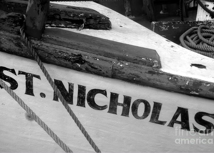 St. Nicholas Greeting Card featuring the photograph St. Nicholas by David Lee Thompson