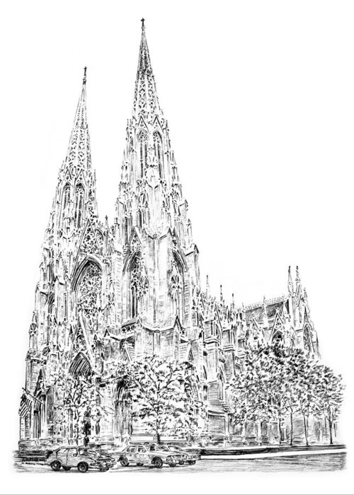 St. Patricks Cathedral Greeting Cards