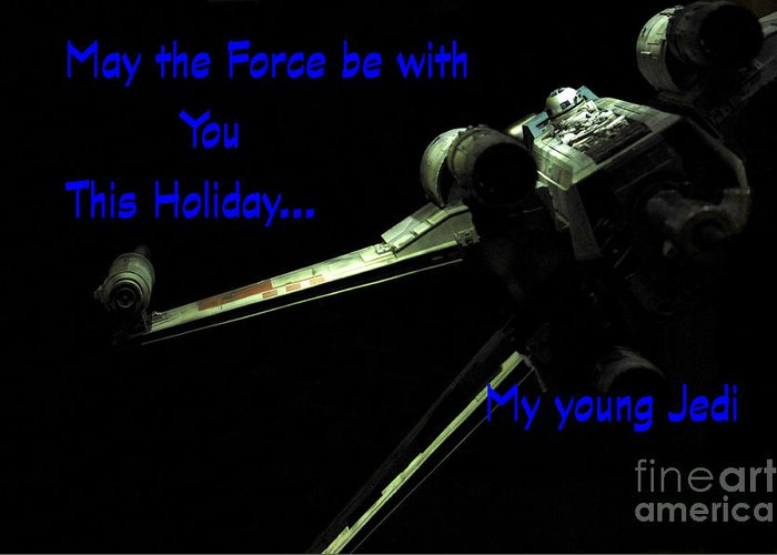 Star Wars Birthday Card 5 Greeting For Sale By Micah May