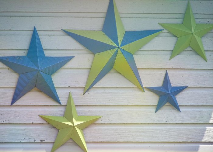 Stars Greeting Card featuring the photograph Stars by JAMART Photography
