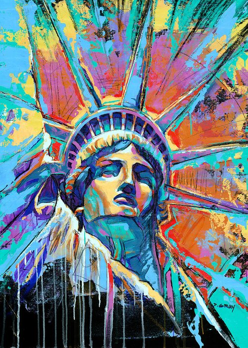 American Landmarks Greeting Cards