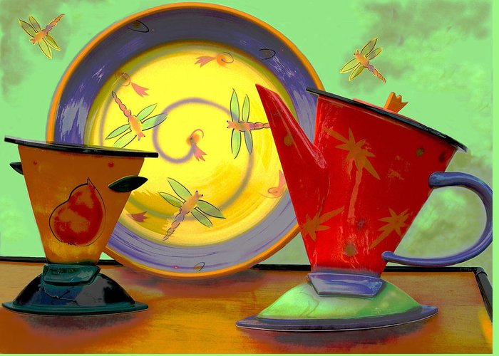 Dragonflys Greeting Card featuring the photograph Still Life One by Jeff Burgess