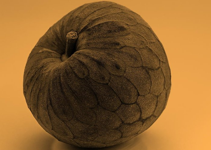 Delicious Greeting Card featuring the photograph Still Life With Cherimoya by Viktor Savchenko
