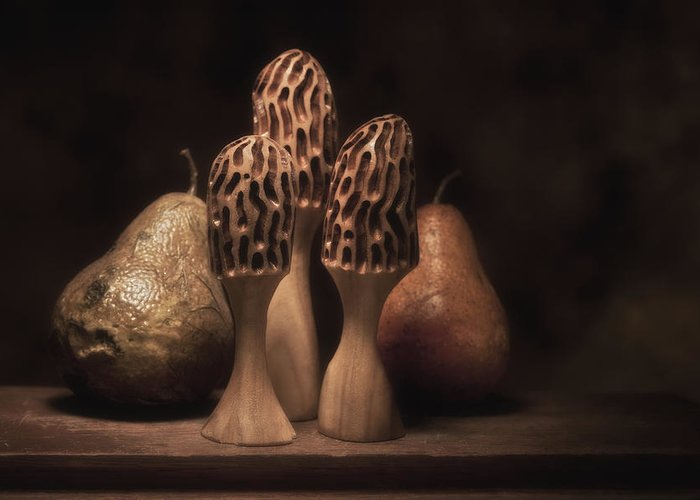 Wood Carving Photographs Greeting Cards