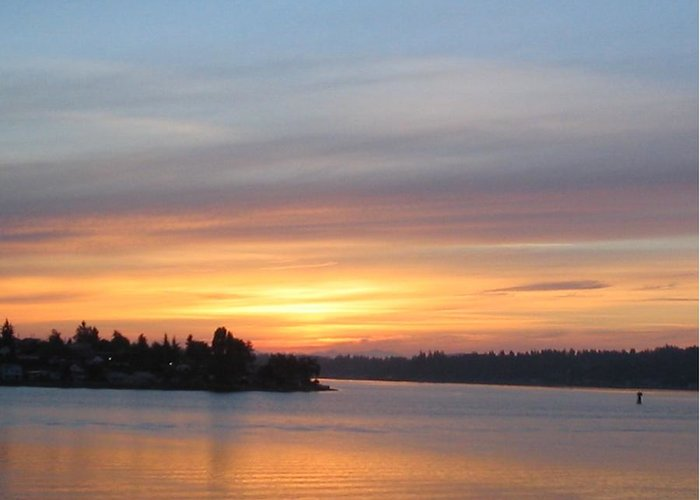 Sunrise Greeting Card featuring the photograph Still Morning Sunrise by Valerie Josi