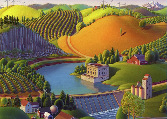 Valley Greeting Cards