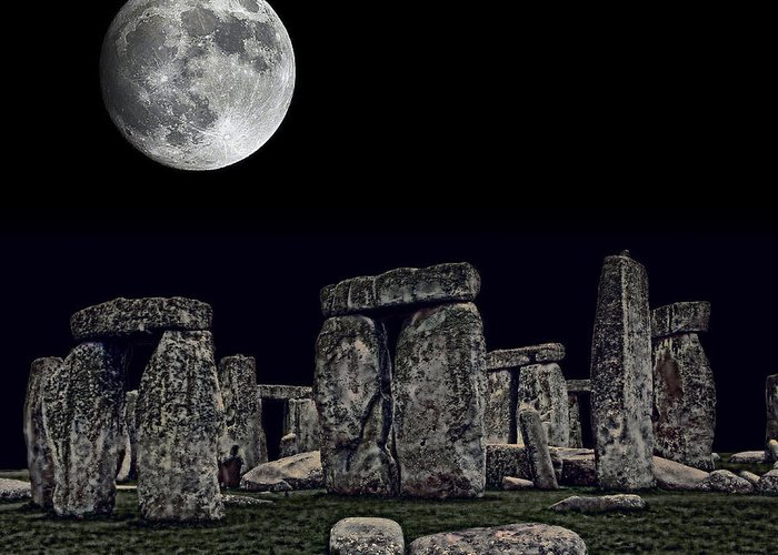 Monolith Mixed Media Greeting Cards