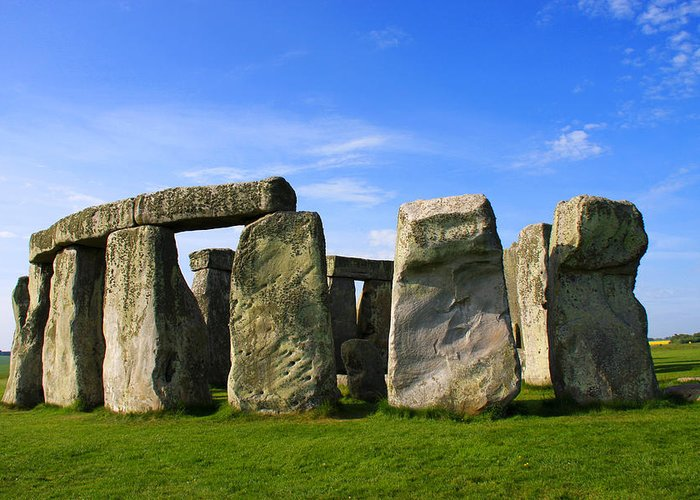 Stonehenge No 1 Greeting Card featuring the photograph Stonehenge No 1 by Kamil Swiatek