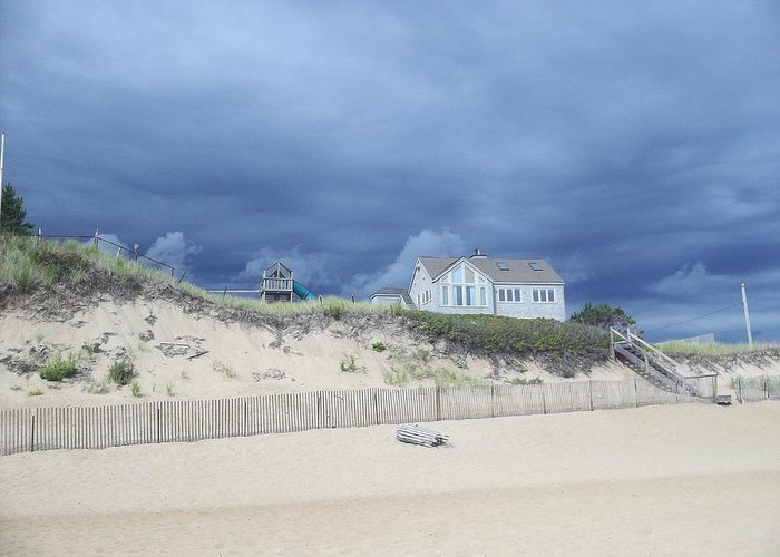 Storm Greeting Card featuring the photograph Storm's A Brewin' by Dianne Patten