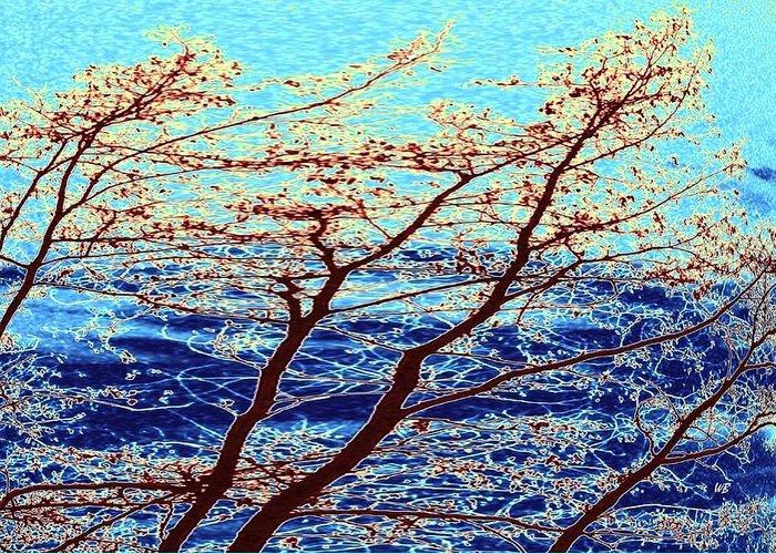 Turbulent Skies Digital Art Greeting Cards
