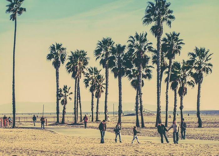 Venice Beach Greeting Cards