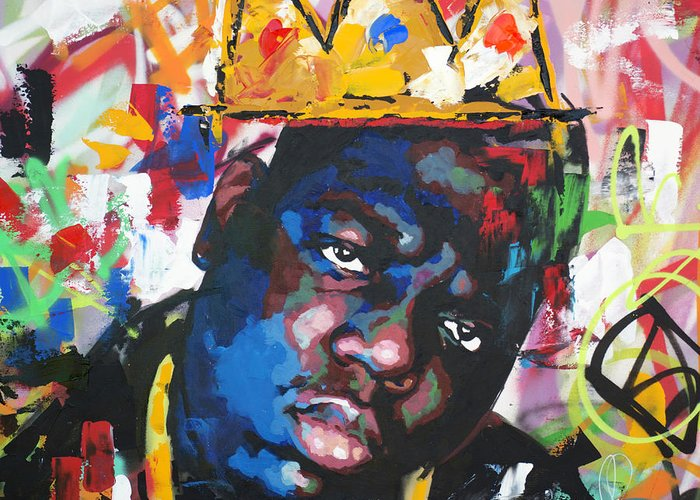 Hip Hop Paintings Greeting Cards