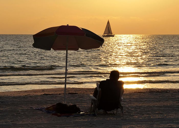 Fine Art Photography Greeting Card featuring the photograph Summer Get Away by David Lee Thompson