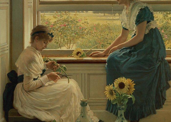 Flower Arranging Greeting Cards