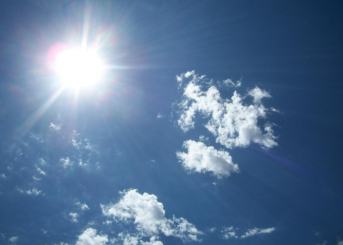 Photography Greeting Card featuring the photograph Sun Shine by Trenton Heckman