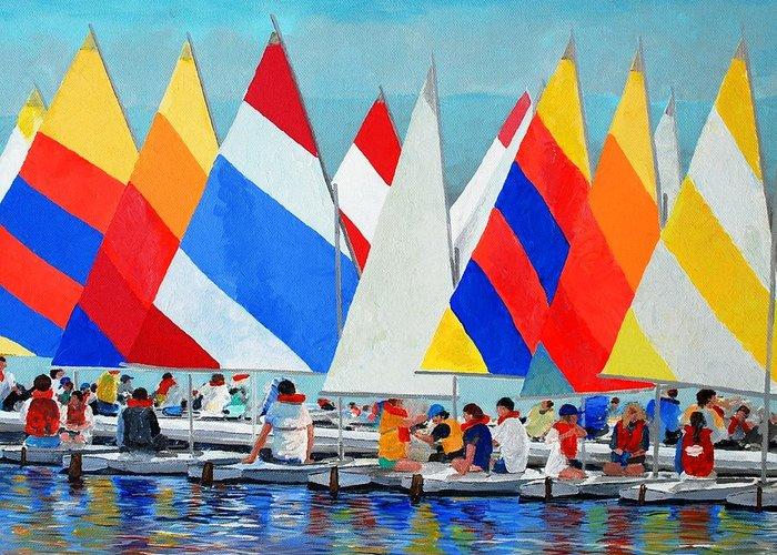 Sail Training Greeting Cards