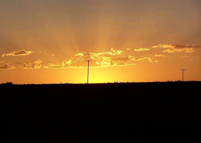 Digital Greeting Card featuring the photograph Sunrise 3 by Travis Wilson