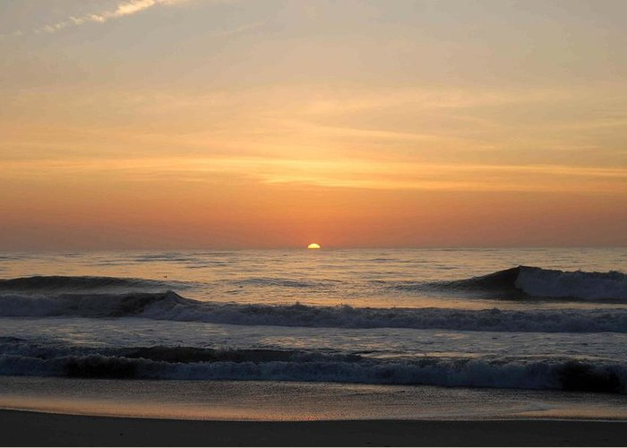 Ocean Sunrise Greeting Card featuring the photograph Sunrise Ocean 48 by Joyce StJames