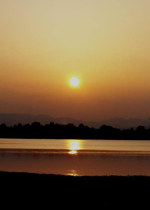 Digital Greeting Card featuring the photograph Sunset 4 by Travis Wilson