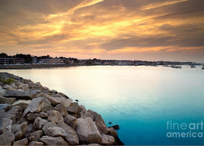 Plymouth Harbor Greeting Cards