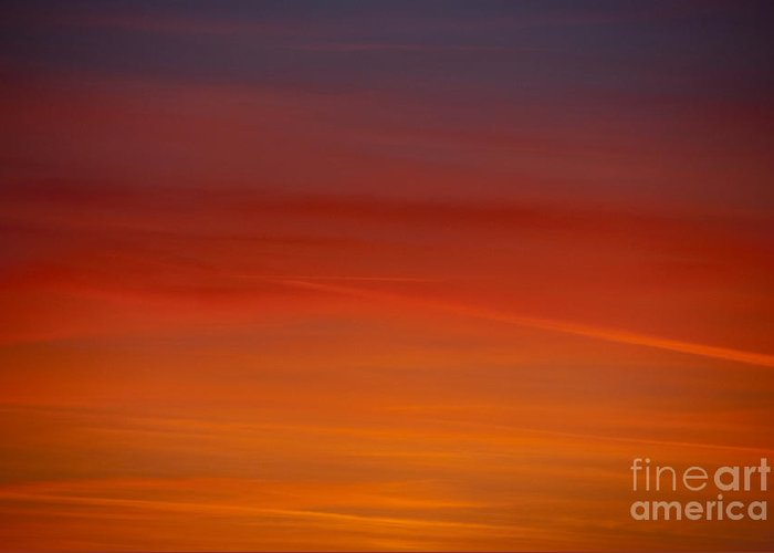 Sunset Greeting Card featuring the photograph Sunset by Elaine Hillson