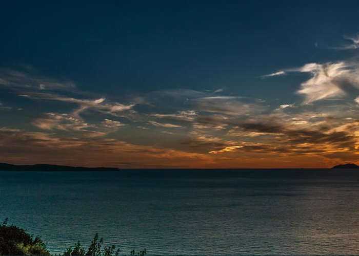 Sunset Greeting Card featuring the photograph Sunset In Dalmatia by Dragan Tomic