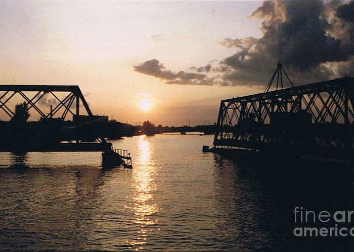 Superior Greeting Card featuring the photograph Sunset In Superior Wi by Tommy Anderson