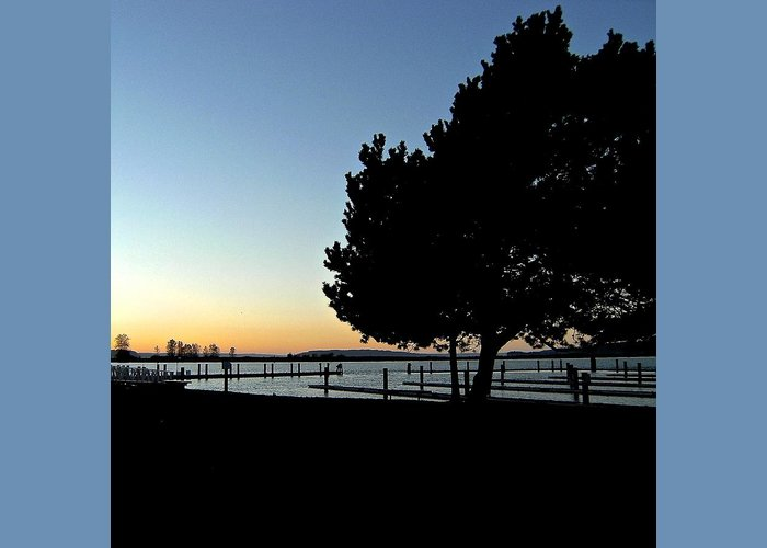 Tranquility Greeting Card featuring the photograph Sunset On The Sound 2 by Katy Granger