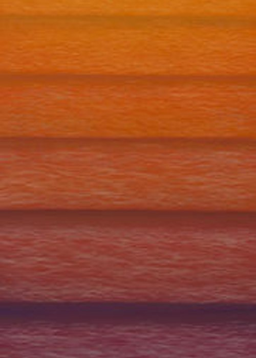 Sunset Greeting Card featuring the mixed media Sunset by Tim Foley
