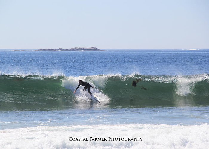Surfing Maine Greeting Cards