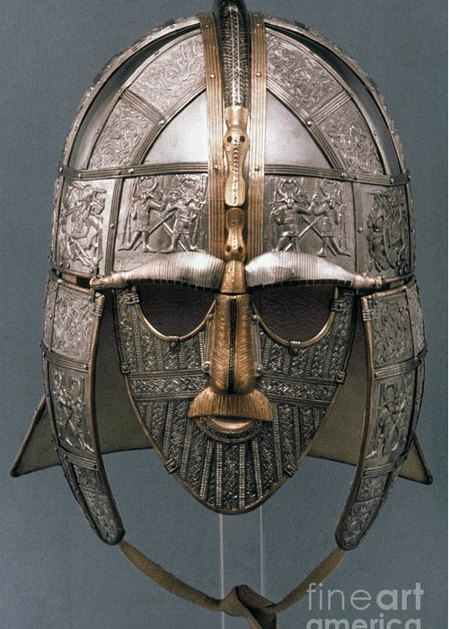 Sutton Hoo Helmet Greeting Car...