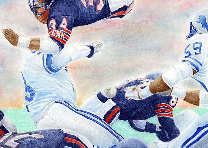 f08706ff0c80ae Chicago Bears Greeting Cards | Fine Art America
