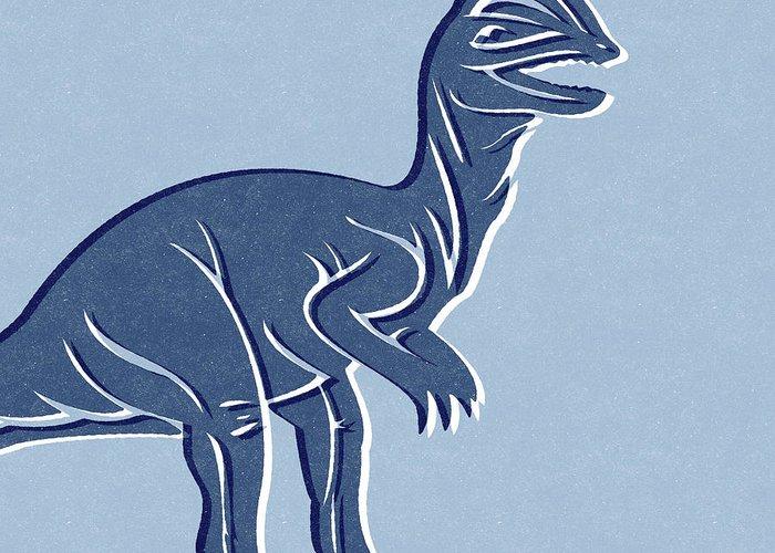 Dinosaurs Mixed Media Greeting Cards