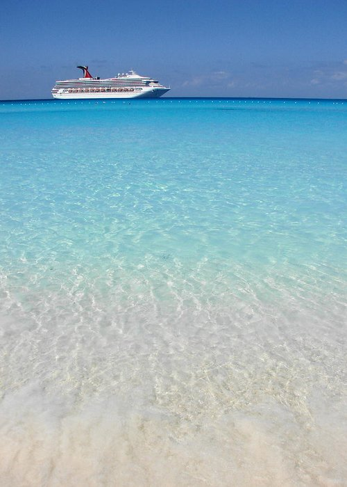 Caribbean Cruise Greeting Card featuring the photograph Take Me Back To Half Moon Cay by Margaret Bobb