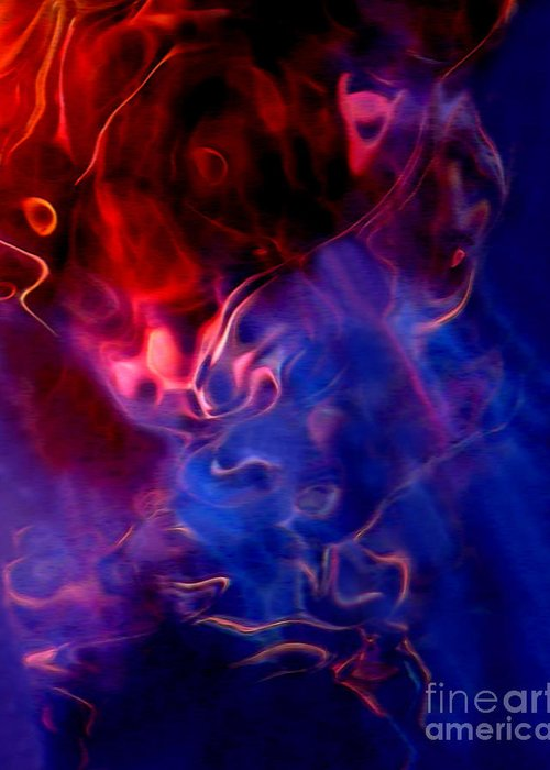 Abstract Greeting Card featuring the photograph Taurus by Terril Heilman