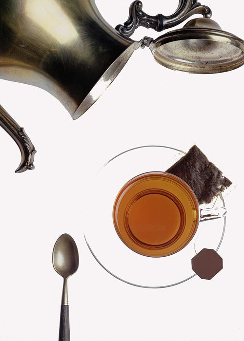 Photo Decor Greeting Card featuring the photograph Tea For One by Steven Huszar