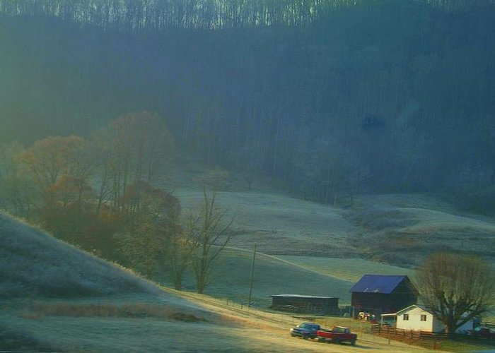 Tennessee Greeting Card featuring the photograph Tennessee Morning.. by Al Swasey