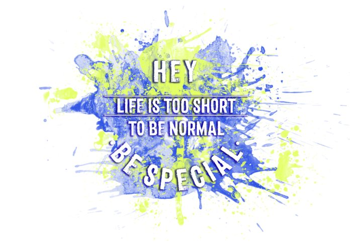 To Be Normal Greeting Cards
