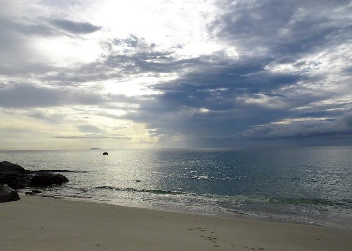 Beach Greeting Card featuring the photograph Thai Beach by Michael Brown