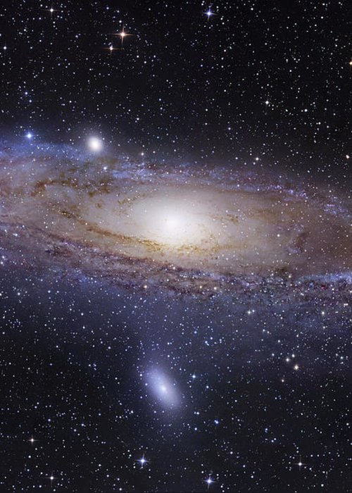 Andromeda Greeting Card featuring the photograph The Andromeda Galaxy by Robert Gendler