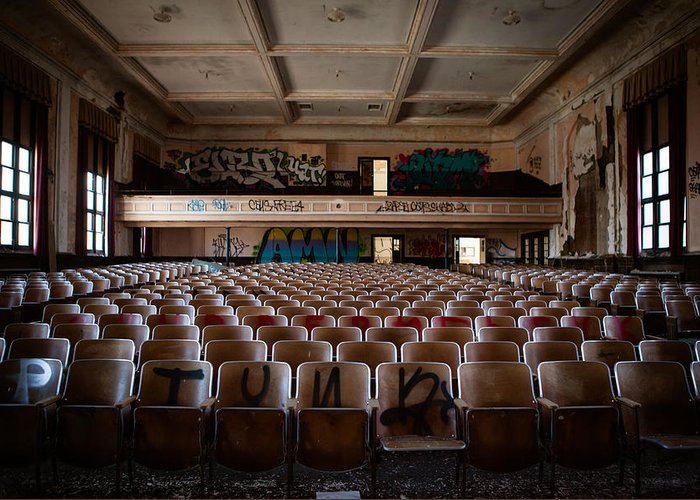 Natural Light Photographer Greeting Card featuring the photograph The Auditorium by Susan Vasconcelos