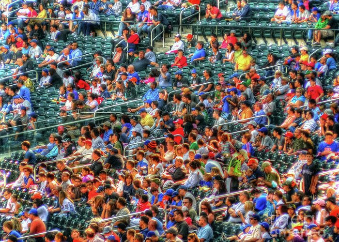 Baseball Greeting Card featuring the photograph The Ballgame by Jeff Breiman