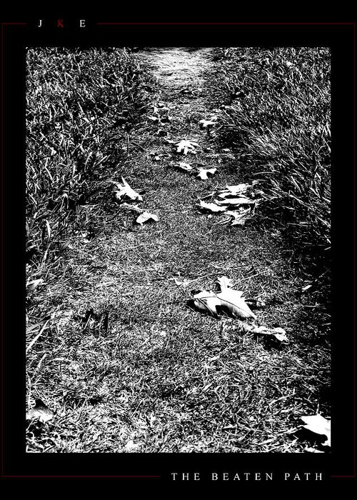 Ksu Greeting Card featuring the photograph The Beaten Path by Jonathan Ellis Keys