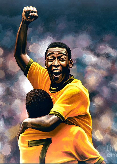 Pele Greeting Cards